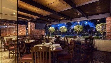 Terraza bar Hotel Urban Aeropuerto Ciudad de México Ciudad de México