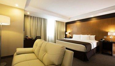 Habitación Jr Suite Hotel Urban Aeropuerto Ciudad de México Ciudad de México