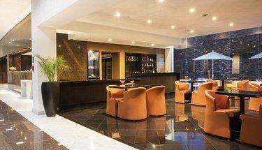 Lobby bar Hotel Urban Aeropuerto Ciudad de México Ciudad de México