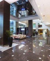 Recepción Hotel Urban Aeropuerto Ciudad de México Ciudad de México