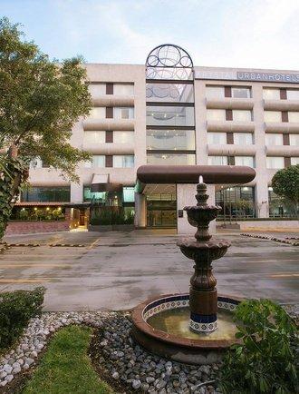 Fachada Hotel Urban Aeropuerto Ciudad de México Ciudad de México