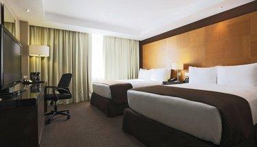 Habitación estándar doble Hotel Urban Aeropuerto Ciudad de México Ciudad de México