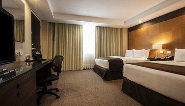 Habitación ejecutiva doble Hotel Urban Aeropuerto Ciudad de México Ciudad de México